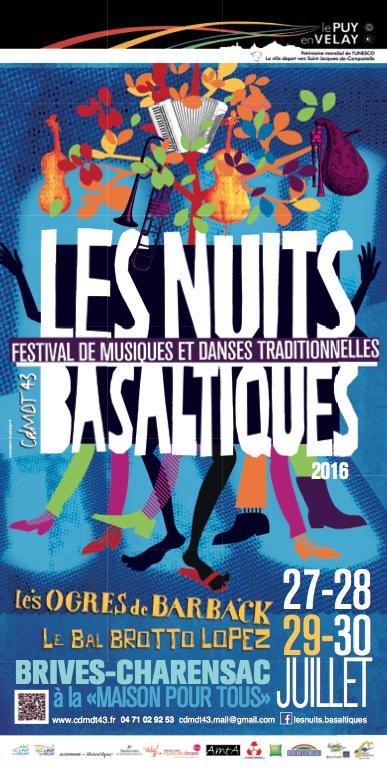 Affiche Basaltiques 2016