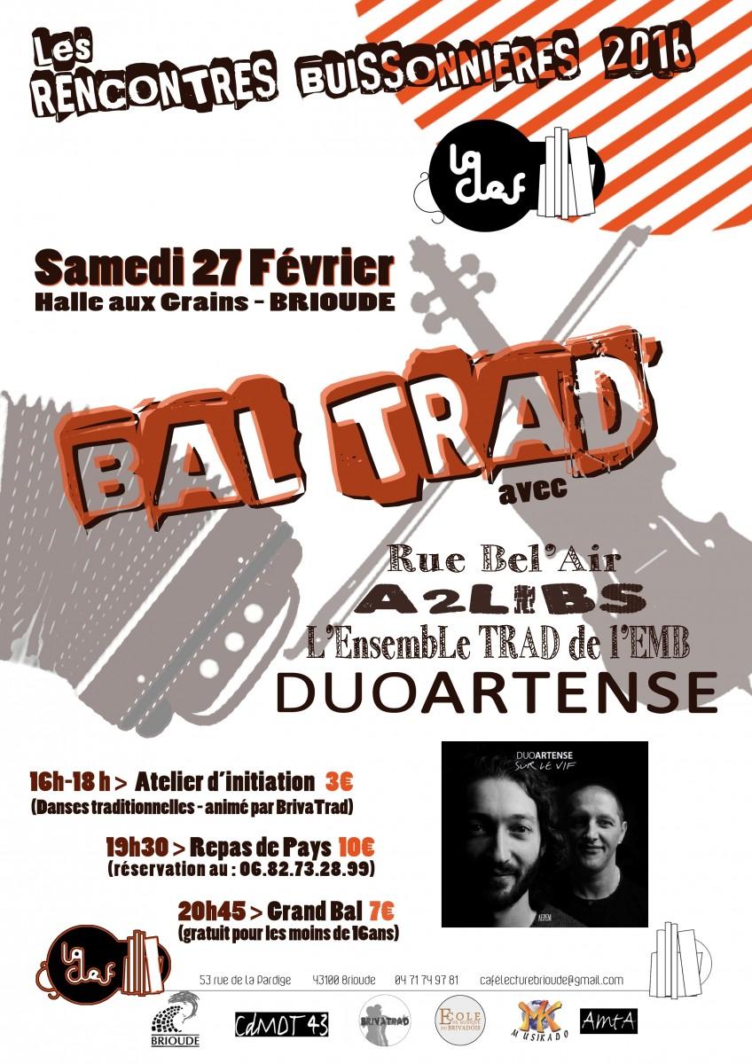 Bal traditionnel – 27 Février à Brioude