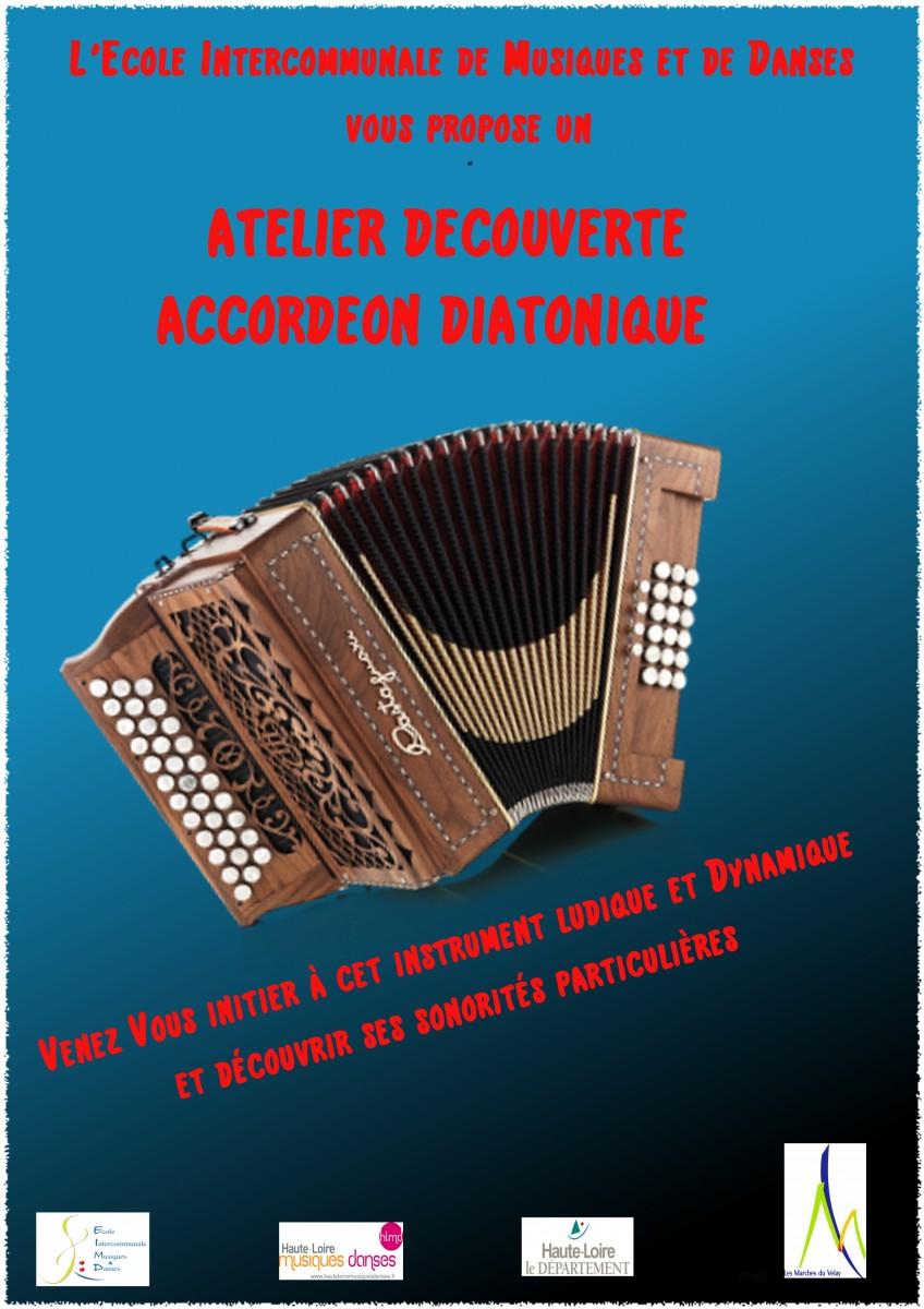 Ste-Sigolène : Atelier-découverte de l'accordéon diatonique