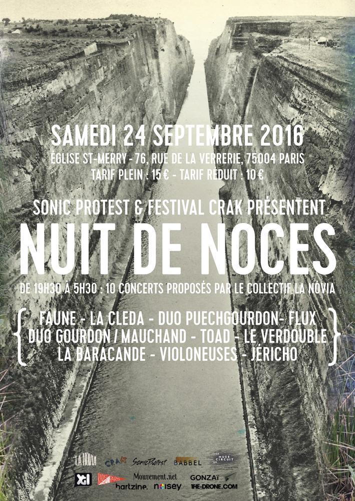 Le collectif La Nòvia à Paris le 24 Septembre
