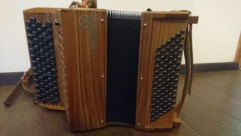"""A vendre accordéon chromatique """"Serafini, Manouche 3"""""""