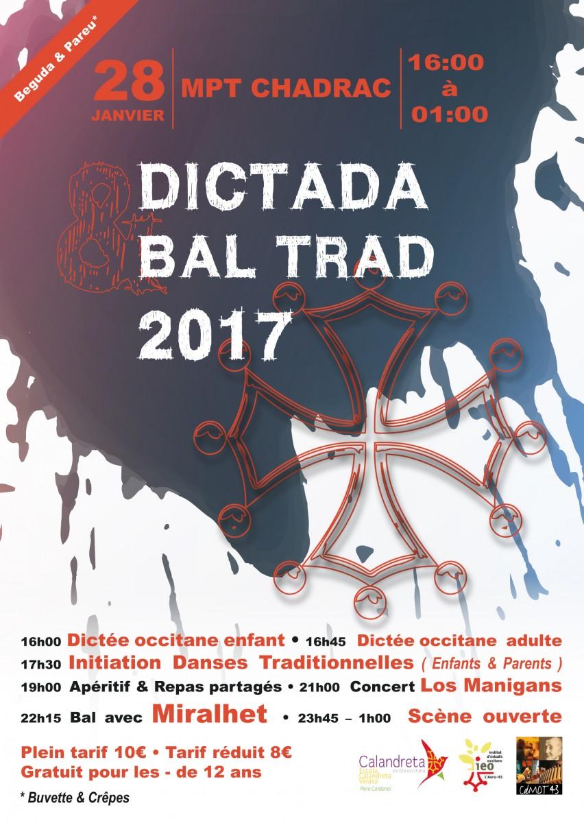 Dictada Occitana et bal traditionnel