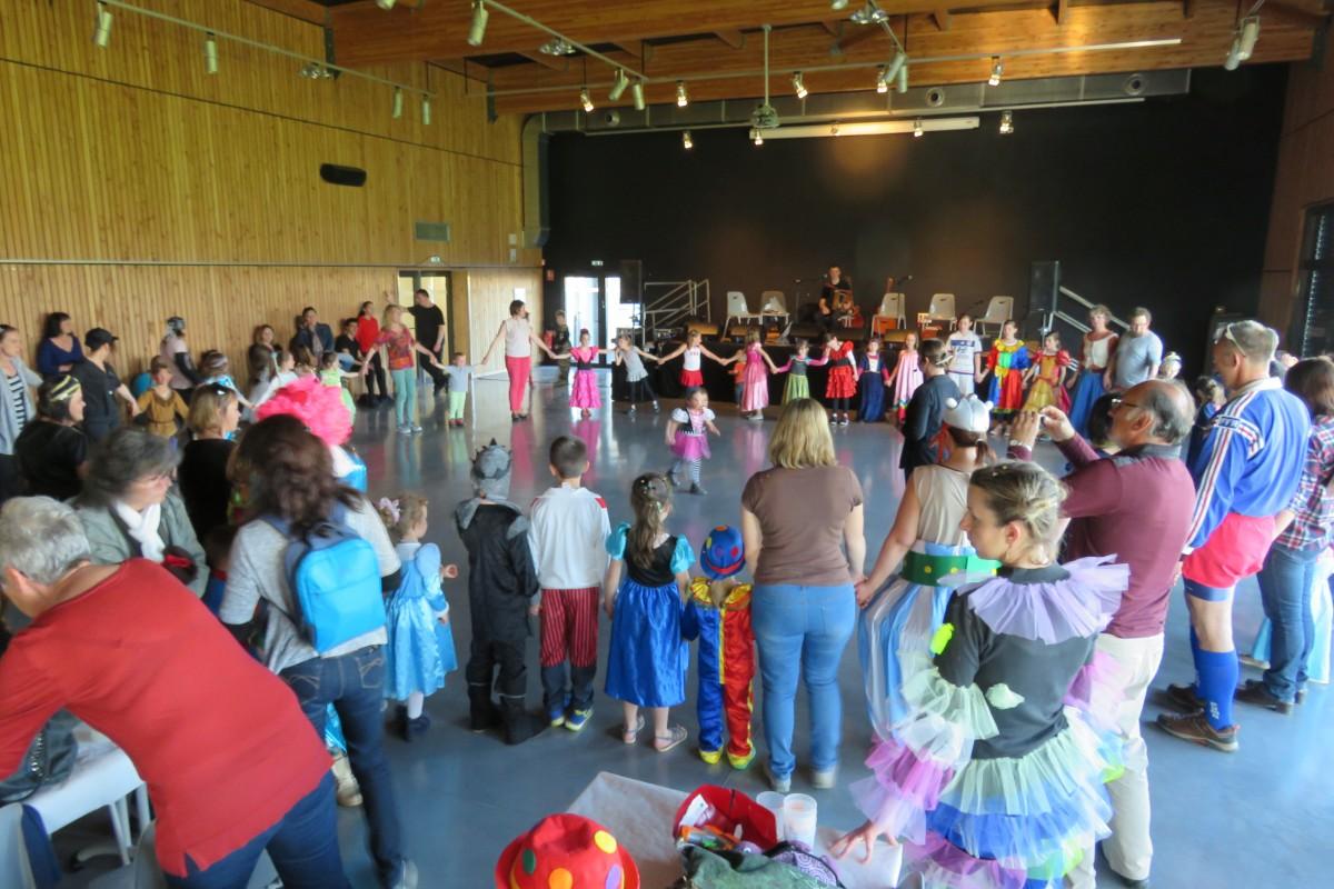 Retour en images sur le carnaval à Sanssac l'Eglise
