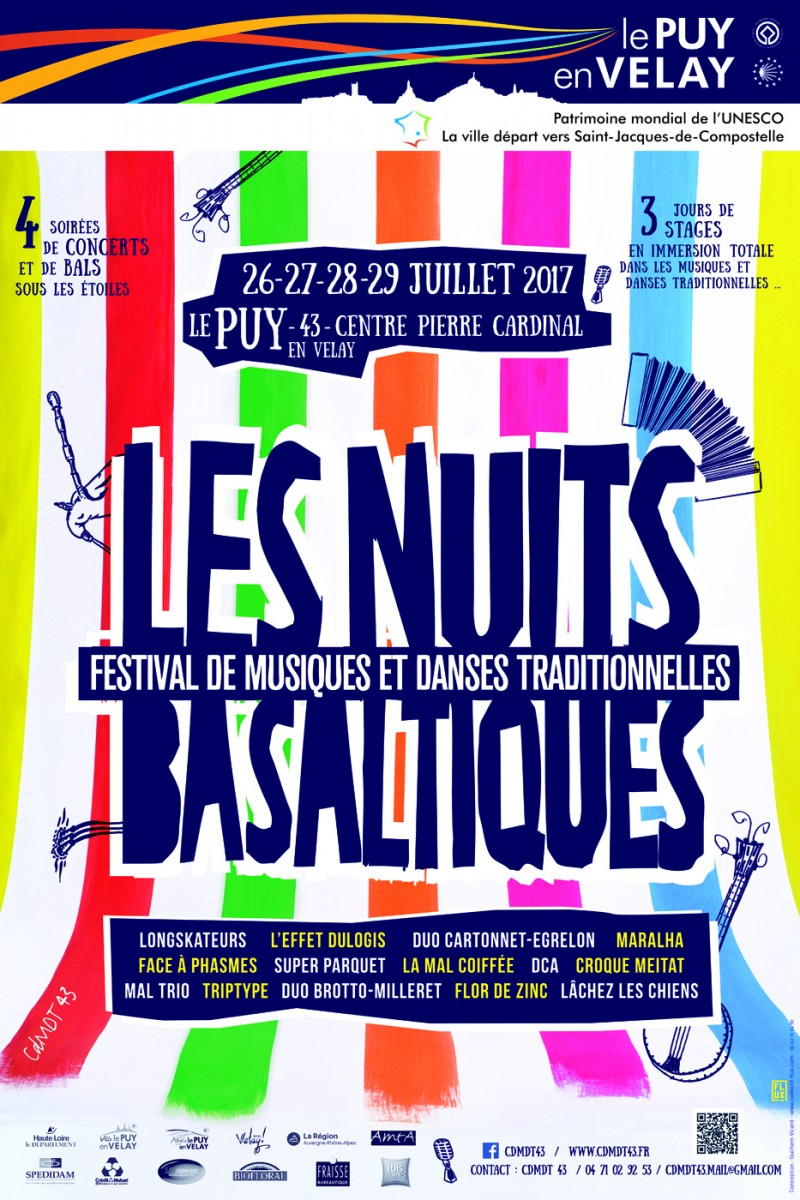 Les Nuits Basaltiques: Les Soirées 2017 !
