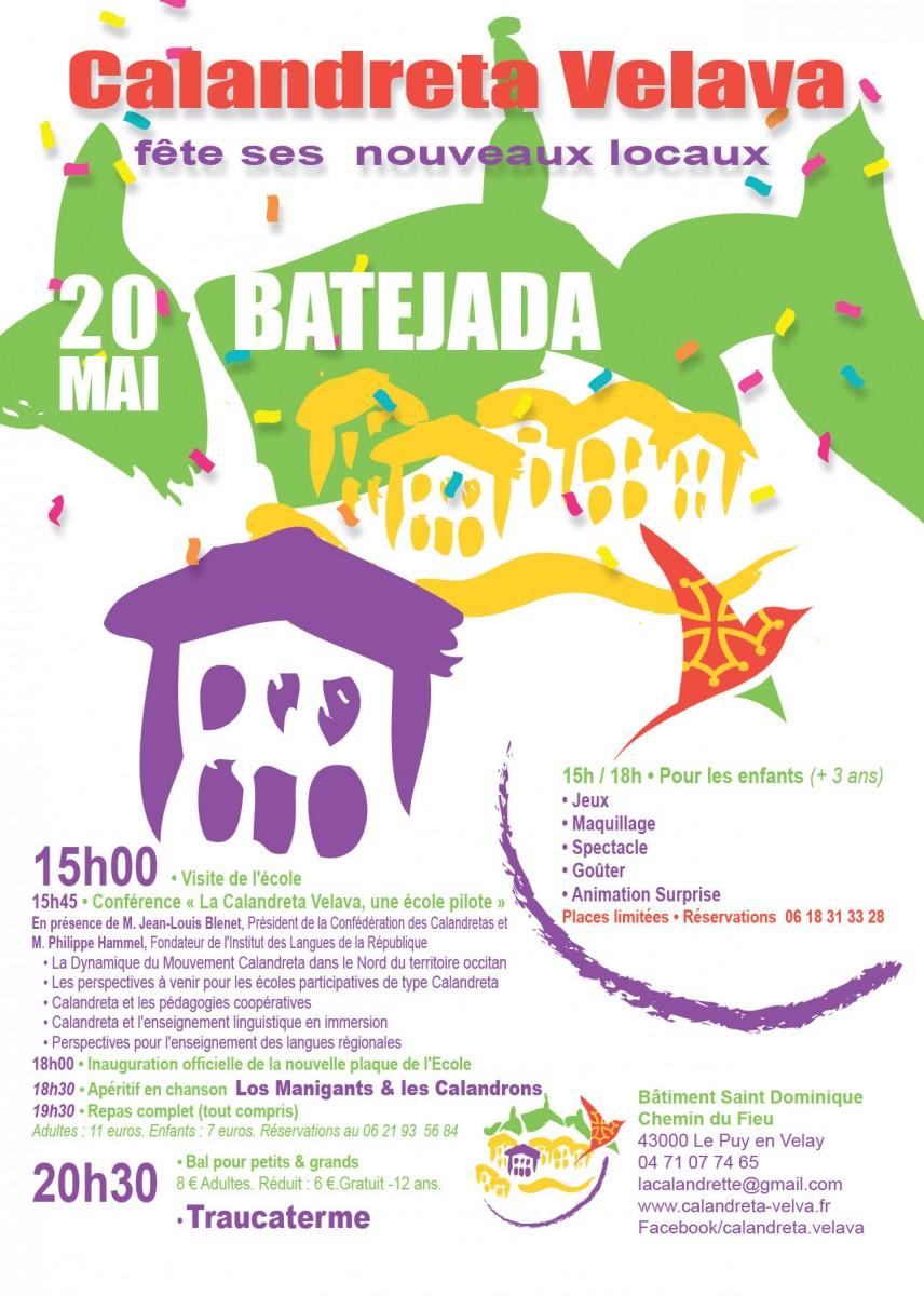 La Calandreta Velava fête ses nouveaux locaux avec un bal trad !