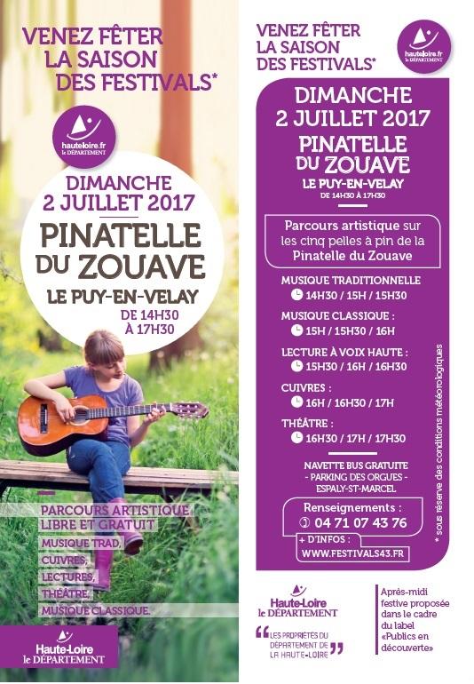 Lancement des festivals de Haute Loire