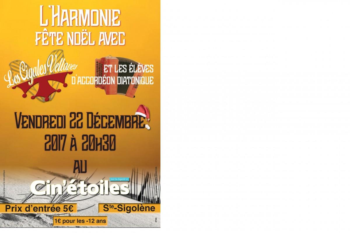 Concert à Sainte Sigolène le 22 Décembre