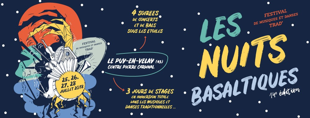 Festival & Stages: Les Nuits Basaltiques 2018