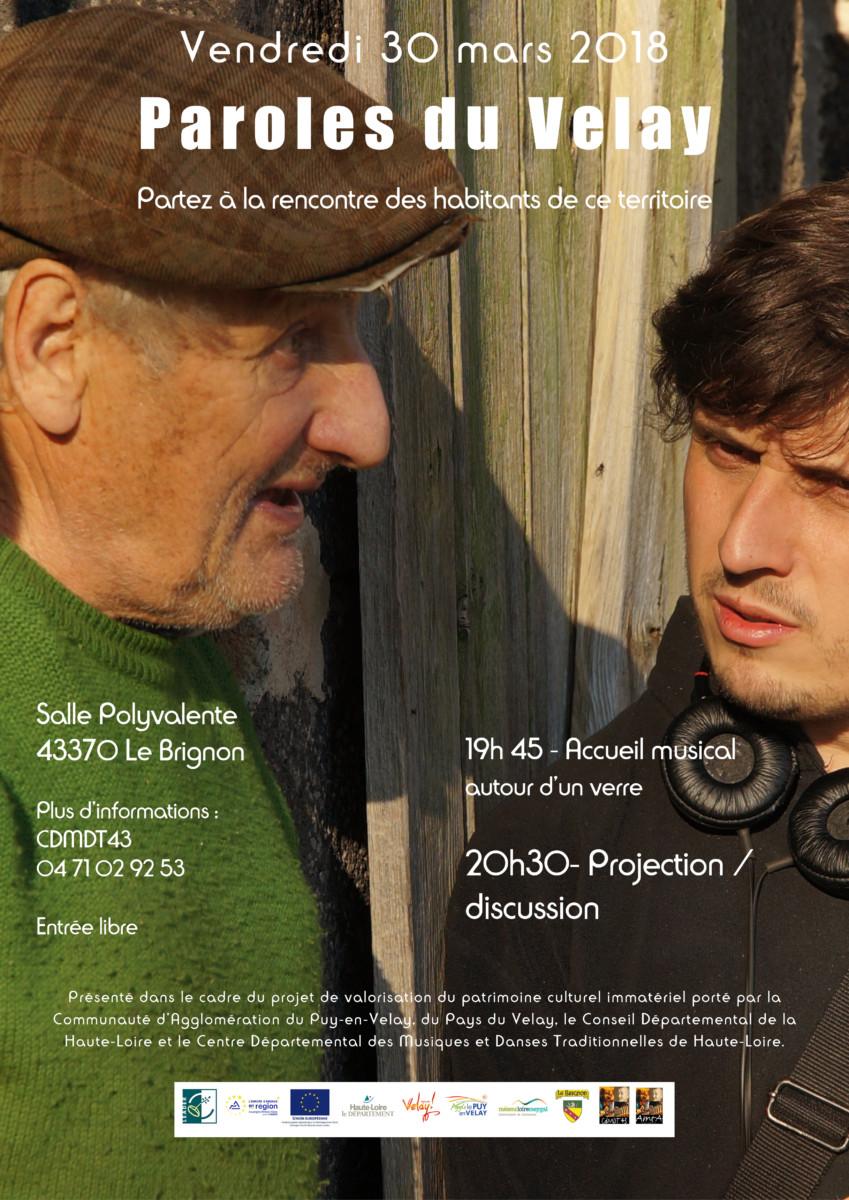 Projection de vidéos, photos et témoignages – Vendredi 30 Mars Le Brignon 19h45
