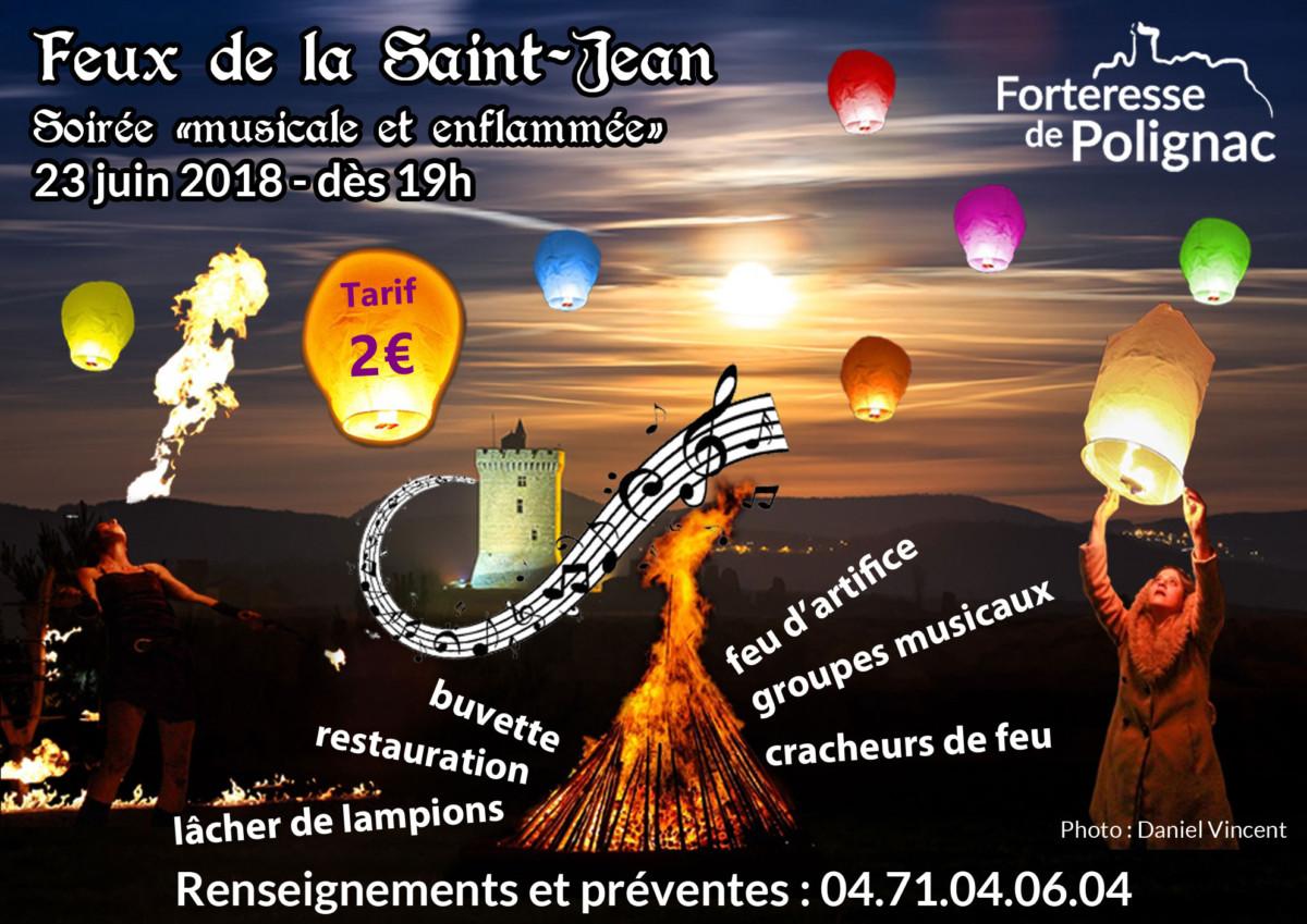 Bal trad pour le Feu de la Saint Jean à Polignac