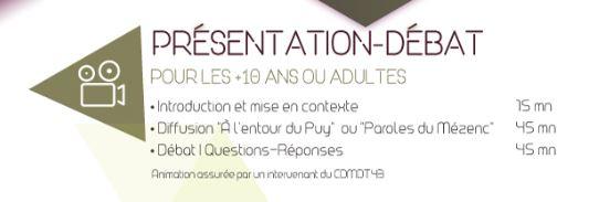 """Film documentaire """"Paroles du Mézenc"""""""