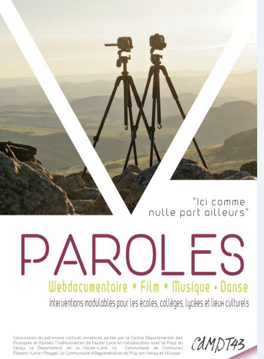 "Projet LEADER ""PAROLES"" (2016-2018)"