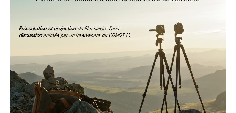 """Projection du film """"Paroles du Mézenc"""" (Montusclat)"""