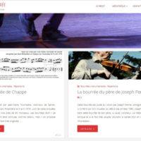 La bourrée a (enfin) son site internet !