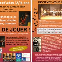 [Chez nos amis du CDMDT15] Stage Trad'ados dans le Cantal